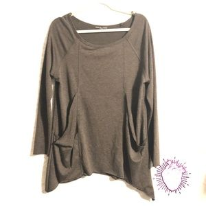 KIm & Cami Oversized Sweater with Pockets